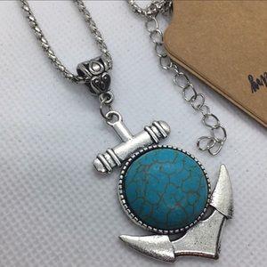 Anchor Necklaces - Antique